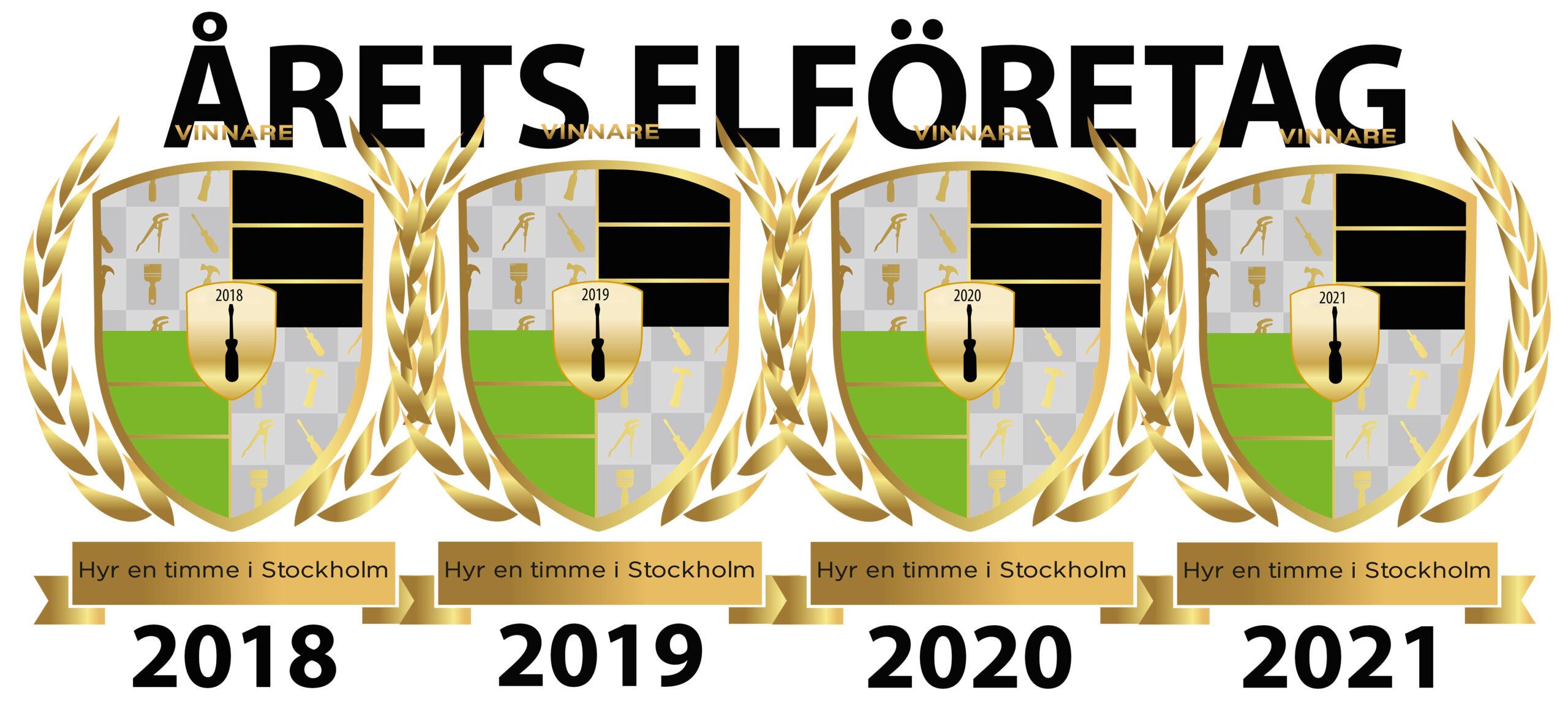 Årets elföretag 2018-2021